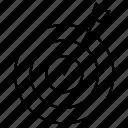 dart, focus, target icon