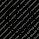 focus, target, targeted icon