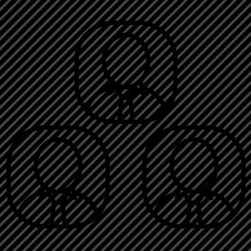 avatar, communuication, network icon