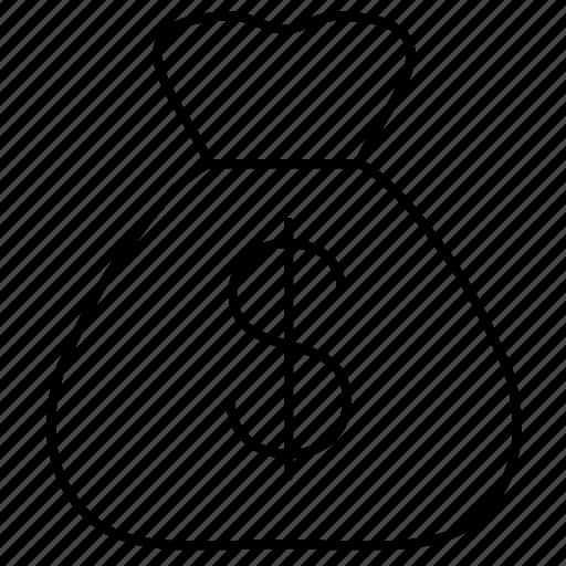 Bag, dollar, money icon - Download on Iconfinder