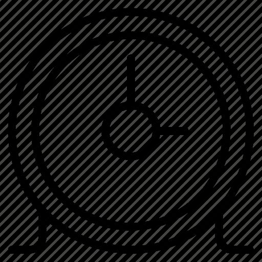 alarm, circular, clock, time, timer icon