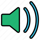 megaphone, sound, speaker, volume icon