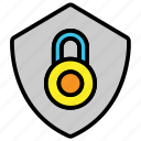 protection, security, shield icon