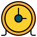 circular, clock, time, timer icon