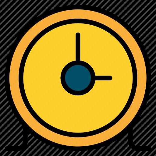 circular, clock, time, timer icon