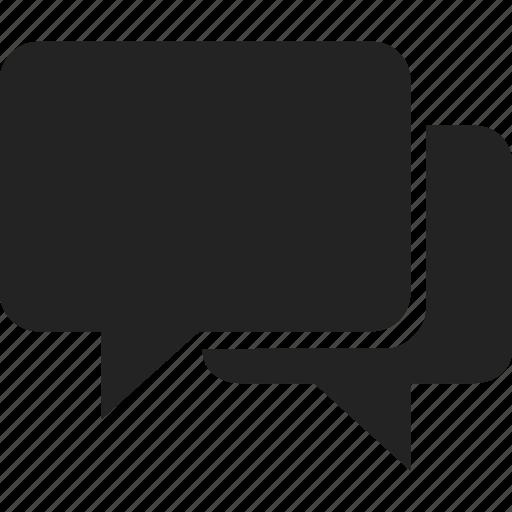 chat, communication, message, speech icon