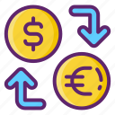 currency, exchange, money, transfer