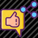 marketer, media, network, social