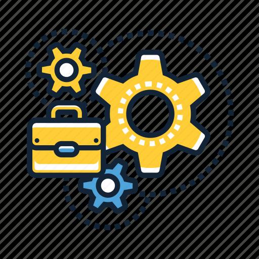 automation, business, computing, data, finance, money, technology icon