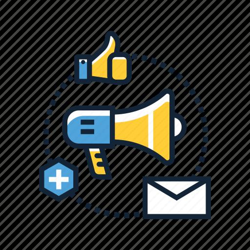 analytics, business, content, management, marketer, marketing, online icon