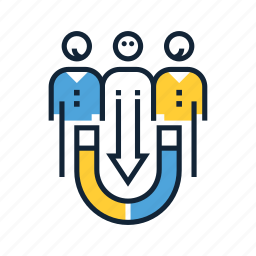 acquisition, business, customer, people, support, user icon