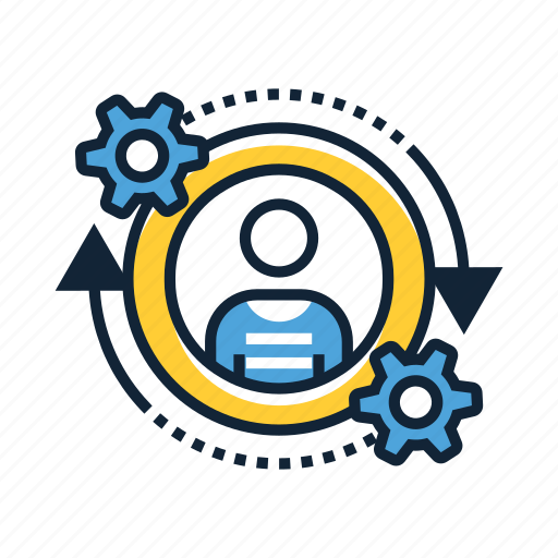 account, customer, retention, service, services, support, user icon