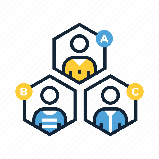 business, client, customer, marketing, people, person, types icon