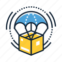 courier, dropshipper, dropshipping, logistic, package, parcel, shipment icon