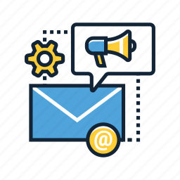 communication, email, internet, mail, marketing, message, online icon