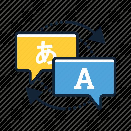 freelance, language, online, translate, translation, translator, web icon