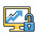 analytics, business, graph, growth, hacking, report, statistics icon