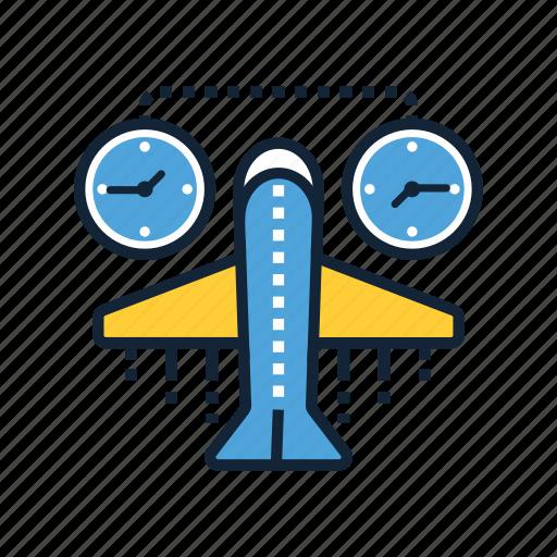 jet, lag, plane, tourism, transportation, travel, vacation icon