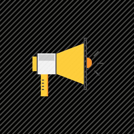business, marketing, megaphone, promotion, speaker icon