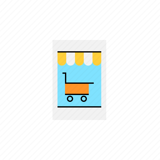 commerce, mobile, shop, shopping, store icon