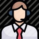 business, customer service, digital, man, online, service, technology