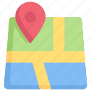 business, digital, location, map gps, online, service, technology icon