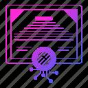 circuit, data, digital, diploma icon