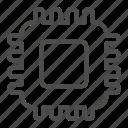 chip, digital, transformation icon