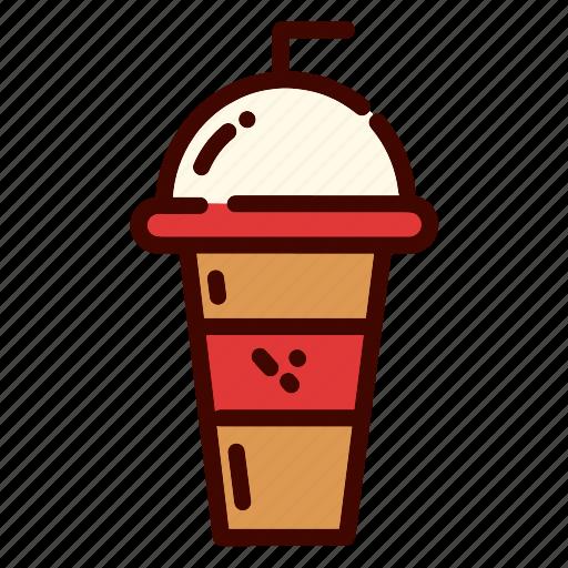 coffee, dinner, drink, food, glass, restaurant, tumbler icon