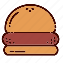 breakfast, burger, dinner, fast, food, restaurant, sandwich icon