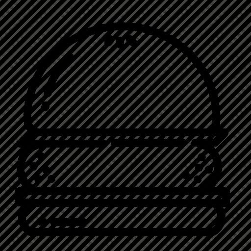 Burger, food, restaurant, fast, lunch, dinner, breakfast icon