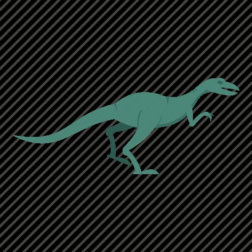 animal, dinosaur, jurassic, reptile, theropod, tyrannosaurus, velyciraptor icon