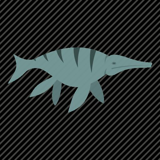 animal, aquatic, dinosaur, ichthyosaur, jurassic, reptile, water icon
