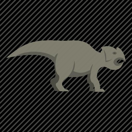animal, ceratopsians, dinosaur, jurassic, predator, reptile, wild icon
