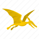 animal, dinosaur, fly, jurassic, pterosaurs, reptile, wing icon