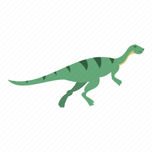 animal, dinosaur, gallimimus, jurassic, predator, reptile, strip icon