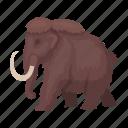prehistoric, tusk, ancient, animal, mammoth