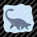 ancient, animal, dinosaur, nautical, prehistoric icon