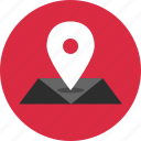 direction, gps, location, map, online icon