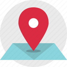 google, gps, location, map, online icon