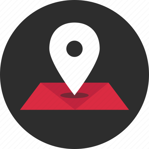 google, gps, location, map, online, pin icon