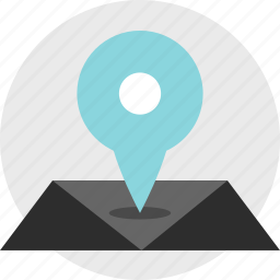 find, google, gps, location, map, online icon