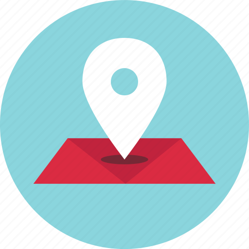gps, location, map, online, pin icon