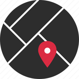 direction, gps, location, online, pin icon