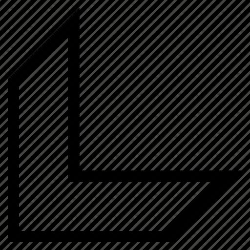 arrowhead, cursor, direction, down left, move, navigation, pointer icon