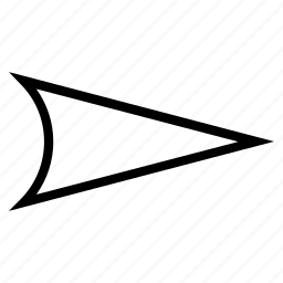 arrow head, arrowhead, direction, move, orientation, pointer, right icon