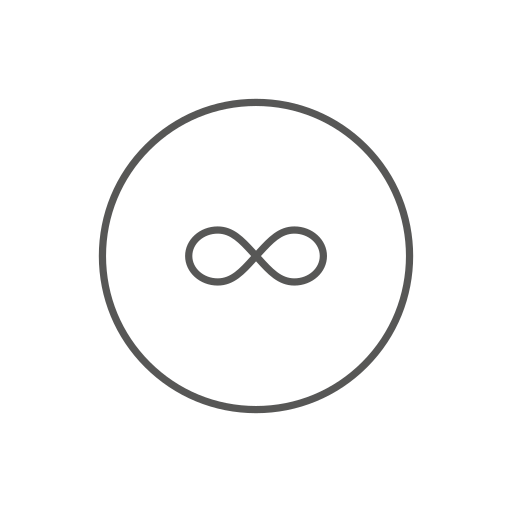 control, forever, infinity icon