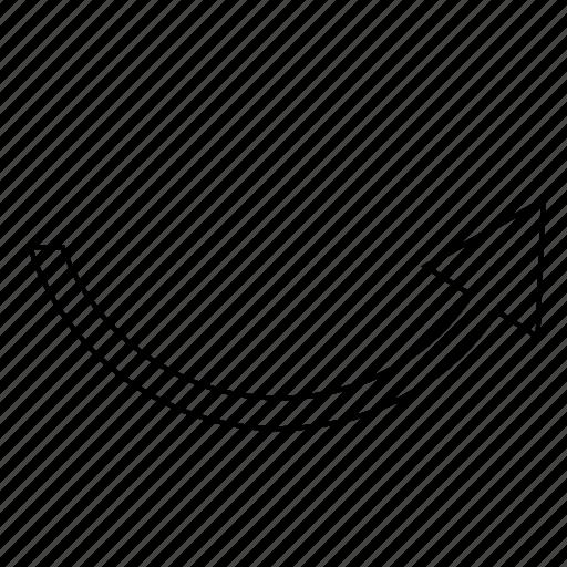 arrow, direction, horizontal, right icon