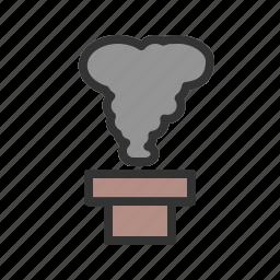 environment, environmental, industrial, pollution, smoke, toxic, waste icon