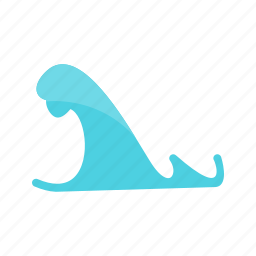 ocean, river, sea, storm, surge, water, weather icon